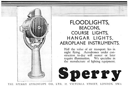 Sperry Aerodrome Floodlights & Beacons