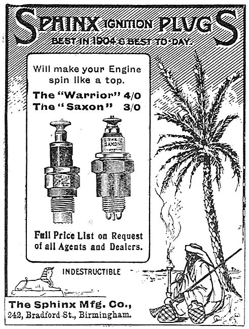Sphinx Ignition Plugs - The Warrior - The Saxon