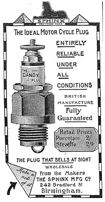 Sphinx Ignition Plugs - The Dandy