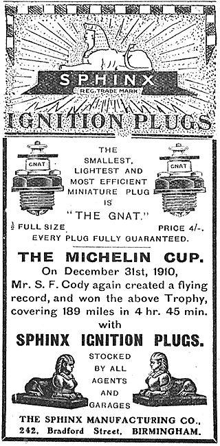 Sphinx Aeroplane Ignition Plugs