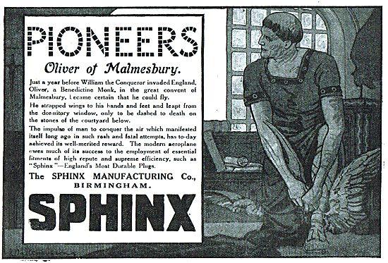 Sphinx Aero-Engine Sparking Plugs