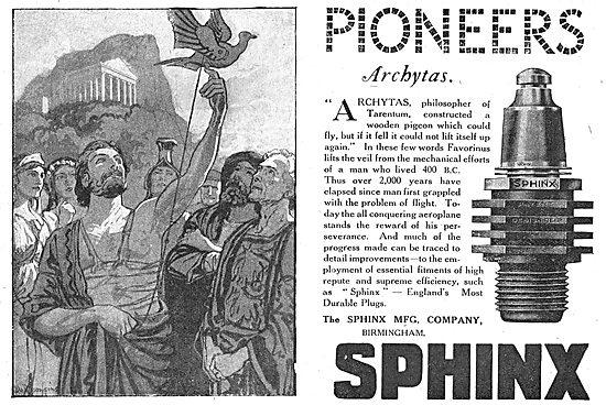 Sphinx Aero Engine Sparking Plugs
