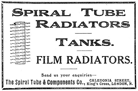 Spiral Tube Aircraft Radiators & Tanks