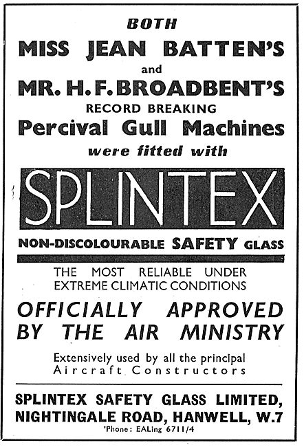 Splintex Safety Glass