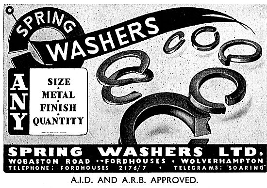 Spring Washers Ltd. Any Size Any Metal Any Finish Any Quantity.