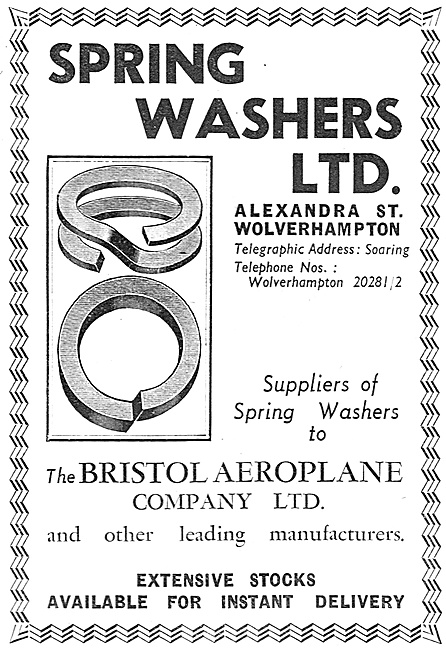 Spring Washers Ltd - Aircraft Grade Spring Washers