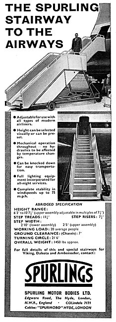 Spurlings Ground Equipment - Spurlings Passenger Boarding Steps