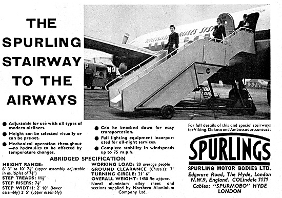 Spurlings Passenger Boarding Stairways