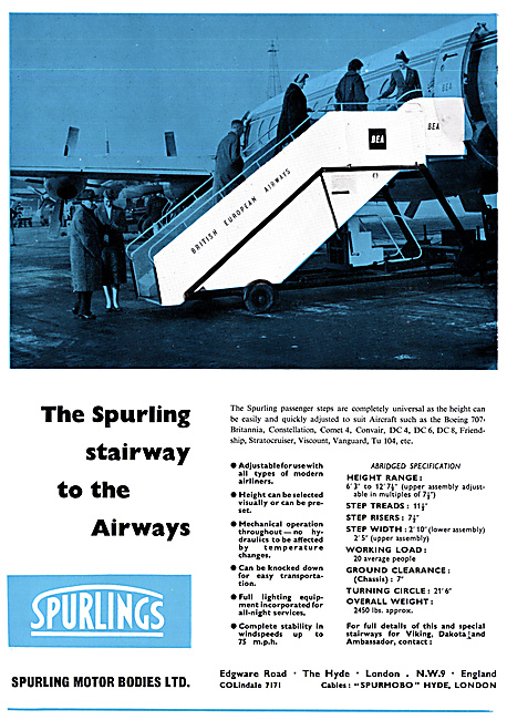 Spurlings Passenger Steps
