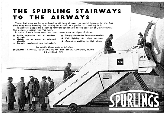 Spurlings Mobile Passenger Stairways