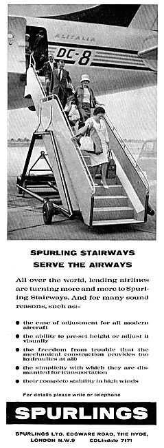 Spurlings Towable Aircraft Passenger Steps