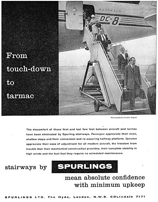 Spurlings Aircraft Passenger Stairways