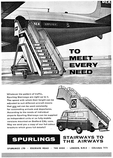 Spurlings Mobile Aircraft Passenger Stairways