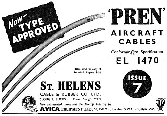 St Helens Aircraft Electrical Wires & Cables