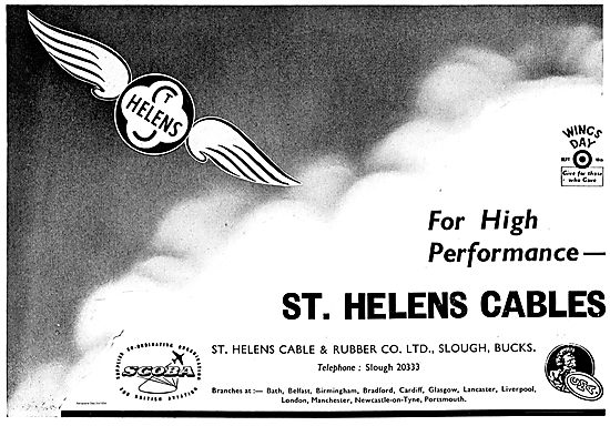St Helens High Performance Cables For Aircraft