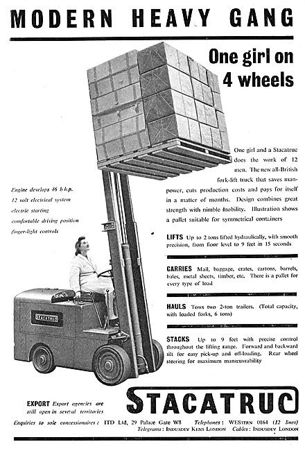 Stacatruc Fork Lift Trucks