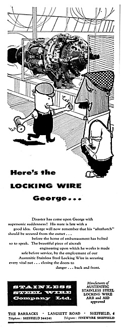 Stainless Steel Wire Co. Locking Wire