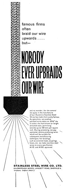 Stainless Steel Wire Co. Wires & Braiding