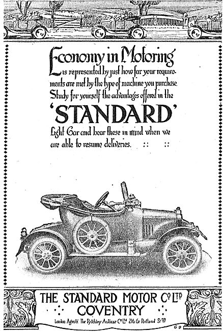 Standard Motor Cars. Coventry