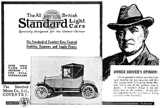 Standard Motor Cars. Coventry  1919