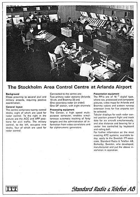 Standard Radio STC Air Traffic Control Equipment