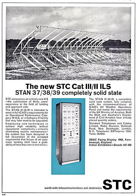Standard Radio STC STAN 37/38/39 CAT III ILS Installation 1966