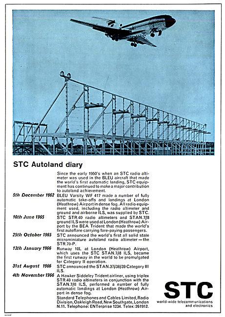 Standard Radio STC  Autoland Diary - BLEU
