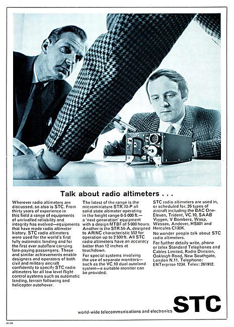 Standard Radio STC Radio Altimeters