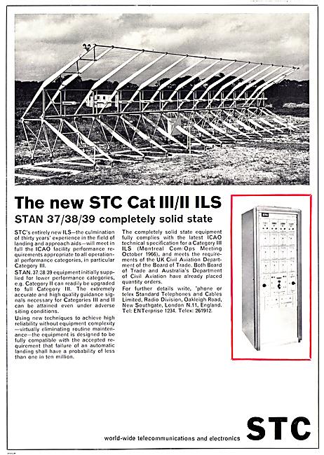 Standard Radio STC  Airfield ILS Installations 1967
