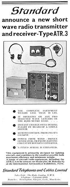 The Standard Aircraft Transmitter Receiver Type ATR3