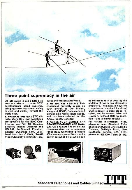 Standard Radio STC Avionics 1967