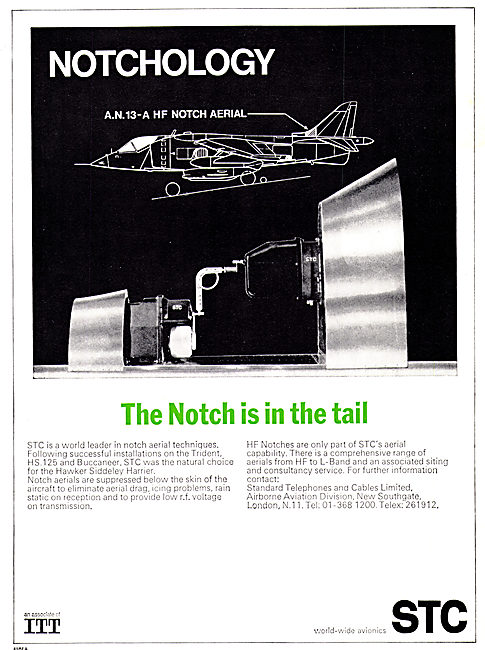 STC Notch Aerials For Military Aircraft