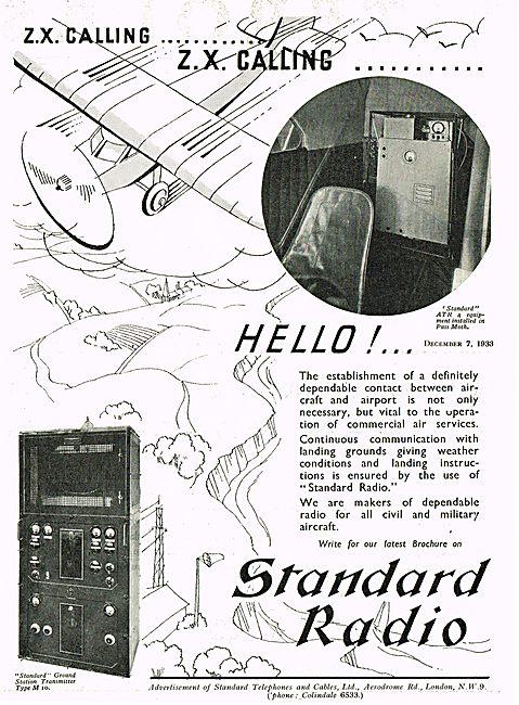Standard Radio Ground Station Transmitter Type M10