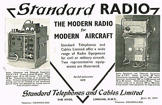 Standard Radio ATR3 ATR7