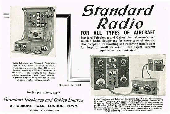 Standard Radio For All Types Of Aircraft ATR6