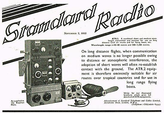 Standard Radio ATR3 For The Brazilian Navy