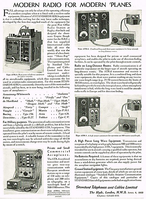 Modern Radio For Modern Planes