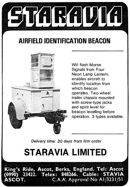 Staravia Mobile Airfield Identification Beacon