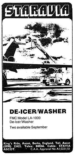 Staravia Aircraft Handling Equipment De-Icer/ Washer Vehicle