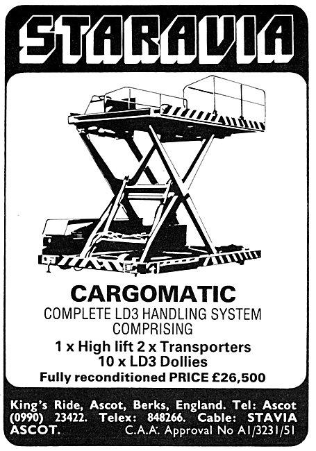 Staravia  Cargomatic LD3 Freight Handling Equipment