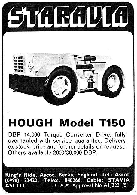 Staravia Handling Equipment Hough Model T150 Aircraft Tug
