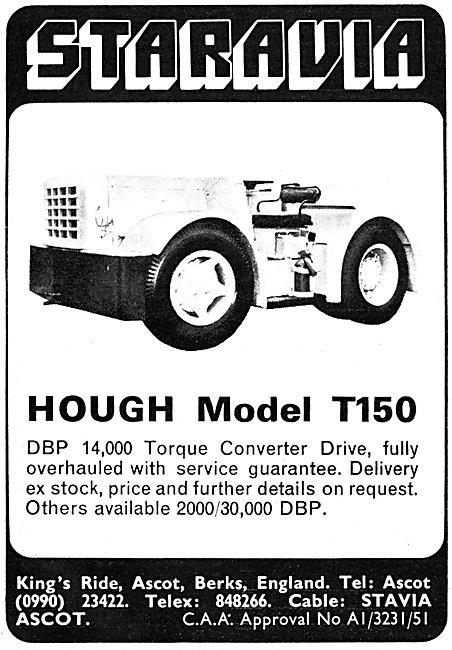 Staravia Hough T150 Tractor - Tug