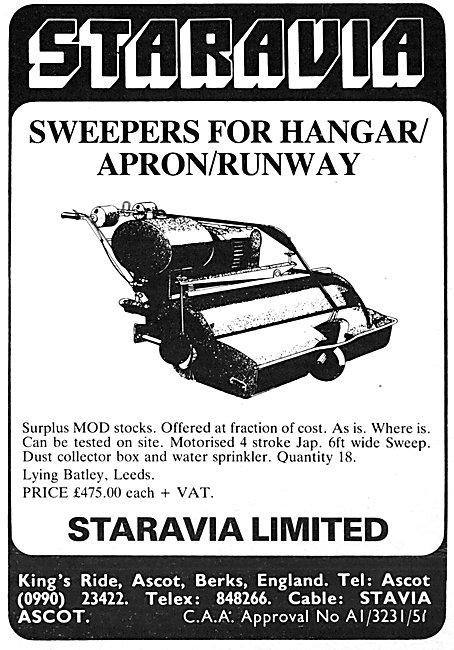Staravia Apron/Runway Sweepers