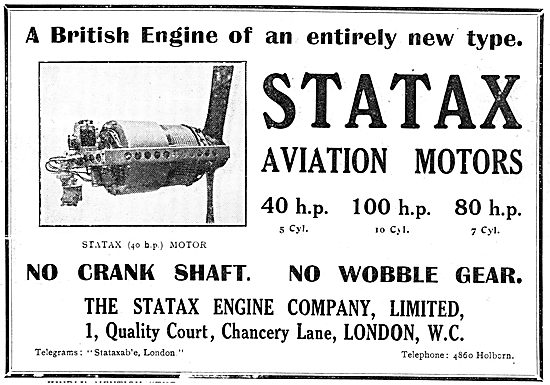 Statax Engine Co - Revolutionary Aviation Motors From 40-80 HP