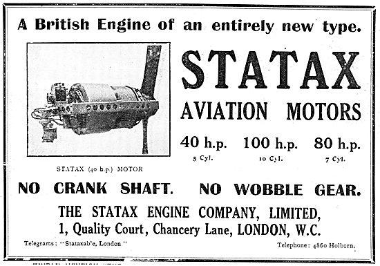 Statax Engine Co - Revolutionary Aviation Motors From 40-80 HP