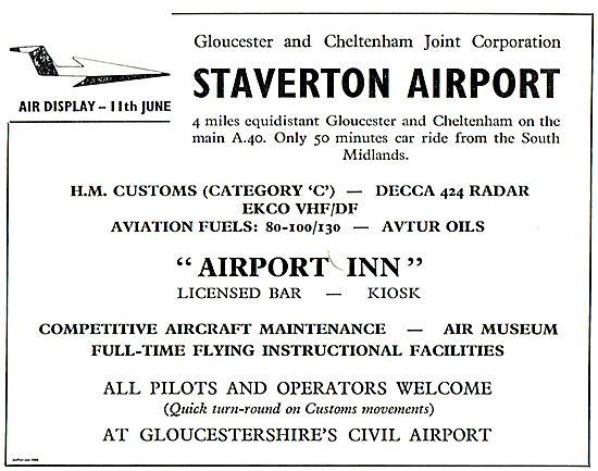 Staverton Airport: Gloucestershire's Civil Airport.