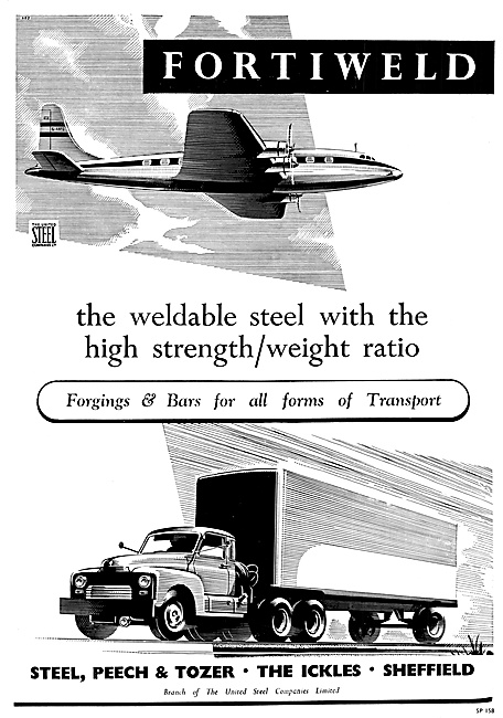 Steel, Peech & Tozer Weldable Steel, Forgings & Bars