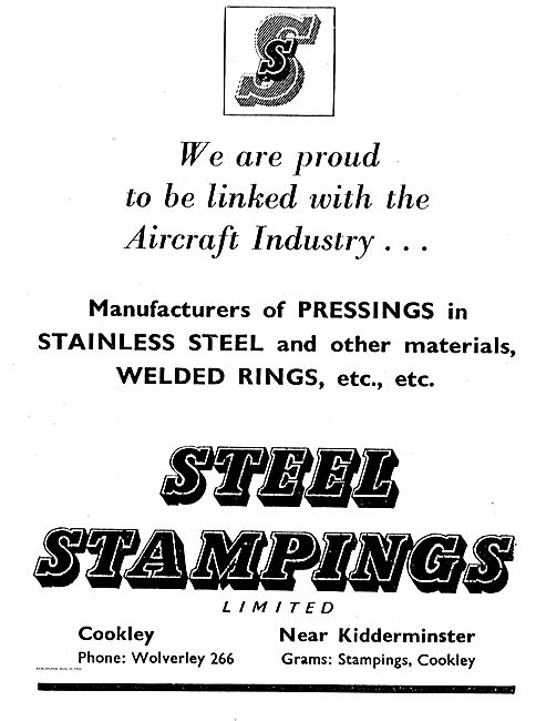 Steel Stampings Pressings In Stainless Steel For Aircraft