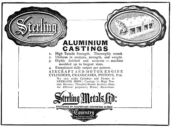 Sterling Metals Coventry - Aluminium Castings