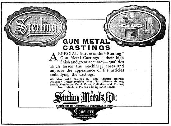Sterling Metals Coventry - Gun Metal Castings